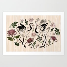 Lovers Eden Art Print