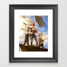 Airships Framed Art Print