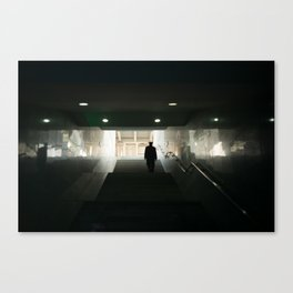 Yangshuo Station Canvas Print