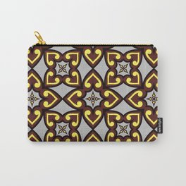 The Queen of Hearts Abstract Seamless Pattern Carry-All Pouch