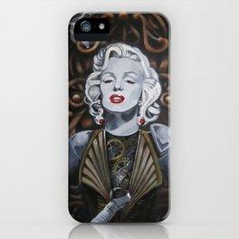 Cyborg Marilyn iPhone Case