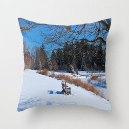 Sheltered Peace Throw Pillow