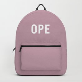 Ope Color Backpack