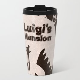 Vector Luigi's Mansion Travel Mug