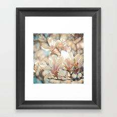 Under the Magnolia Tree Framed Art Print