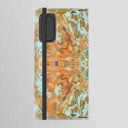 Humming Bird Orange Android Wallet Case