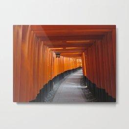Fushimi Inari Metal Print