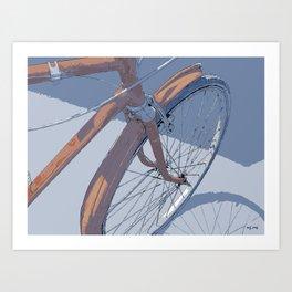 #inktober2016:transport Art Print