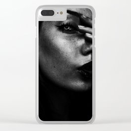 Dangerous Girl Clear iPhone Case