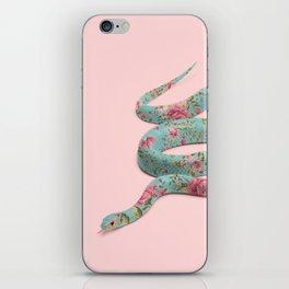 FLORAL SNAKE iPhone Skin