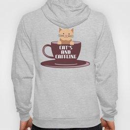 Cat's and Caffeine Hoody