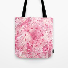 """The Suitor's Plea"" Kaleidoscope 5 by Angelique G. @FromtheBreathofDaydreams Tote Bag"