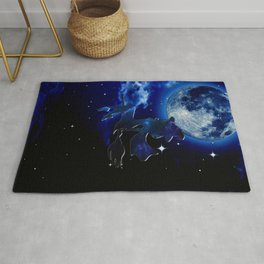 A MIDNIGHT JOURNEY Rug