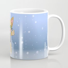 Happy Cat Winter style Coffee Mug
