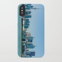 toronto iPhone & iPod Cases featuring Toronto  by Slyschoberg
