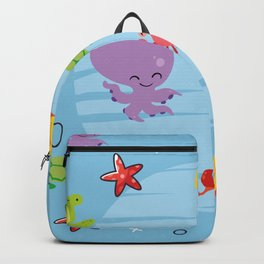 Happy Sealife Backpack