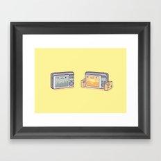 Holiday snaps Framed Art Print