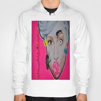 artrave Hoodies featuring artRAVE by Sabino Martinez
