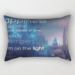 Turn on the light Rectangular Pillow