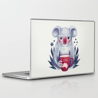 australia Laptop & iPad Skins featuring I♥Australia by Lime
