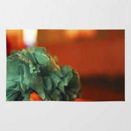 Paper florwers Rug