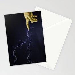 Finger of God Stationery Cards