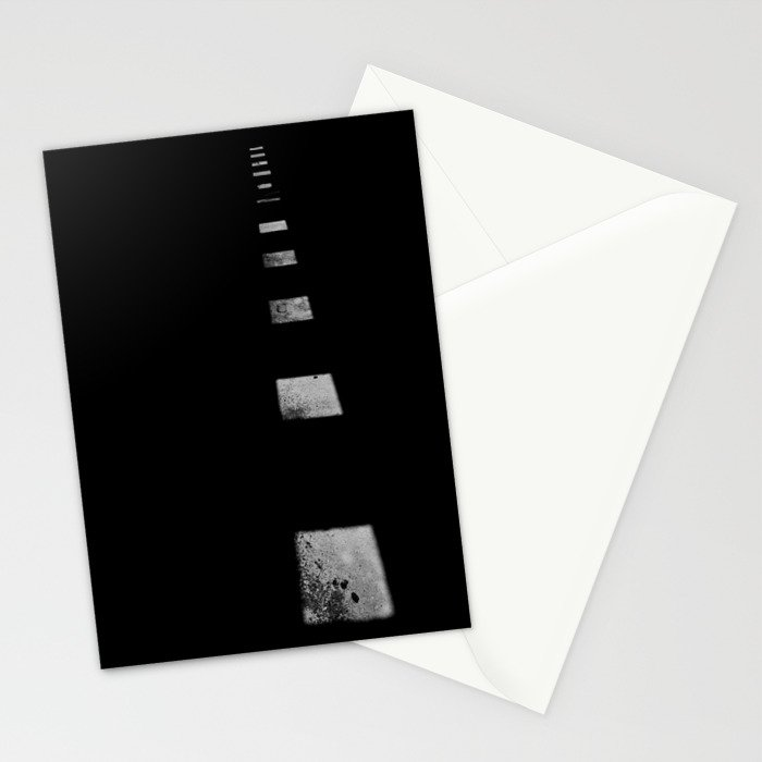 Minimalist Shadows Stationery Cards