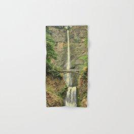 MULTNOMAH FALLS - COLUMBIA GORGE WATERFALL - OREGON Hand & Bath Towel