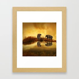 Elephant 3 Framed Art Print