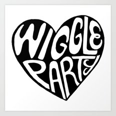 Wiggle Party Art Print