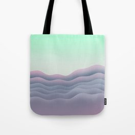 iso mountain sunset Tote Bag