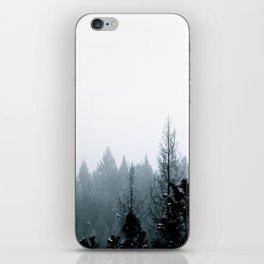 Cool Pines iPhone Skin