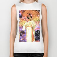 angels Biker Tanks featuring Angels by Saundra Myles