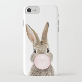 Bubble Gum Bunny iPhone Case