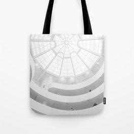 Guggenheim Interior | Frank Frank Lloyd Wright Architect | New York Tote Bag