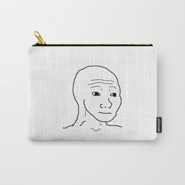 Wojak / That feel guy Carry-All Pouch