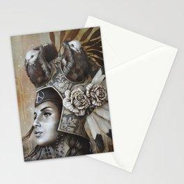 Guerrière pacifique Stationery Cards