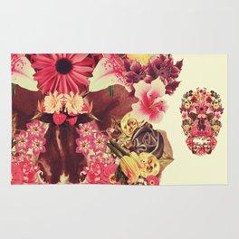 Echinacea Linaria Silene Rug
