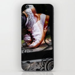 Running Abstract iPhone Skin