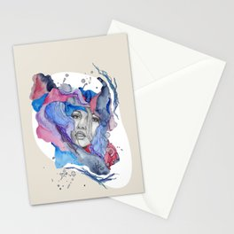 """""""Lotte"""" by carographic Stationery Cards"""