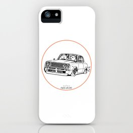 Crazy Car Art 0219 iPhone Case