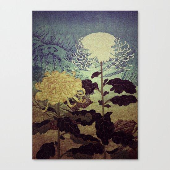 Midnight Climbing towards Kankoi Canvas Print