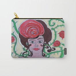 Rosa que linda eres  Carry-All Pouch