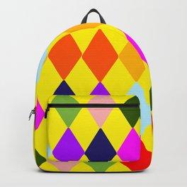 Retro art deco tile Backpack