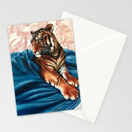 The Golden Tiger Stationery Cards