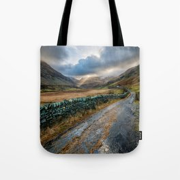 Valley Sunlight Tote Bag