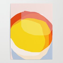 Tropical Sunny Day (Abstract) Poster