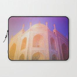 Morning Light Reflexion at Taj Mahal Laptop Sleeve