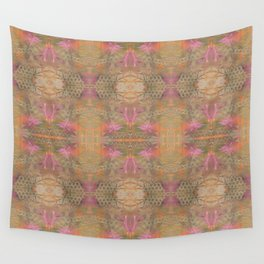 Gold Dust Weave 009 Wall Tapestry