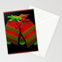 Christmas Bells Stationery Cards